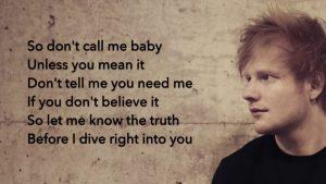 Ed Sheeran - Dive-2